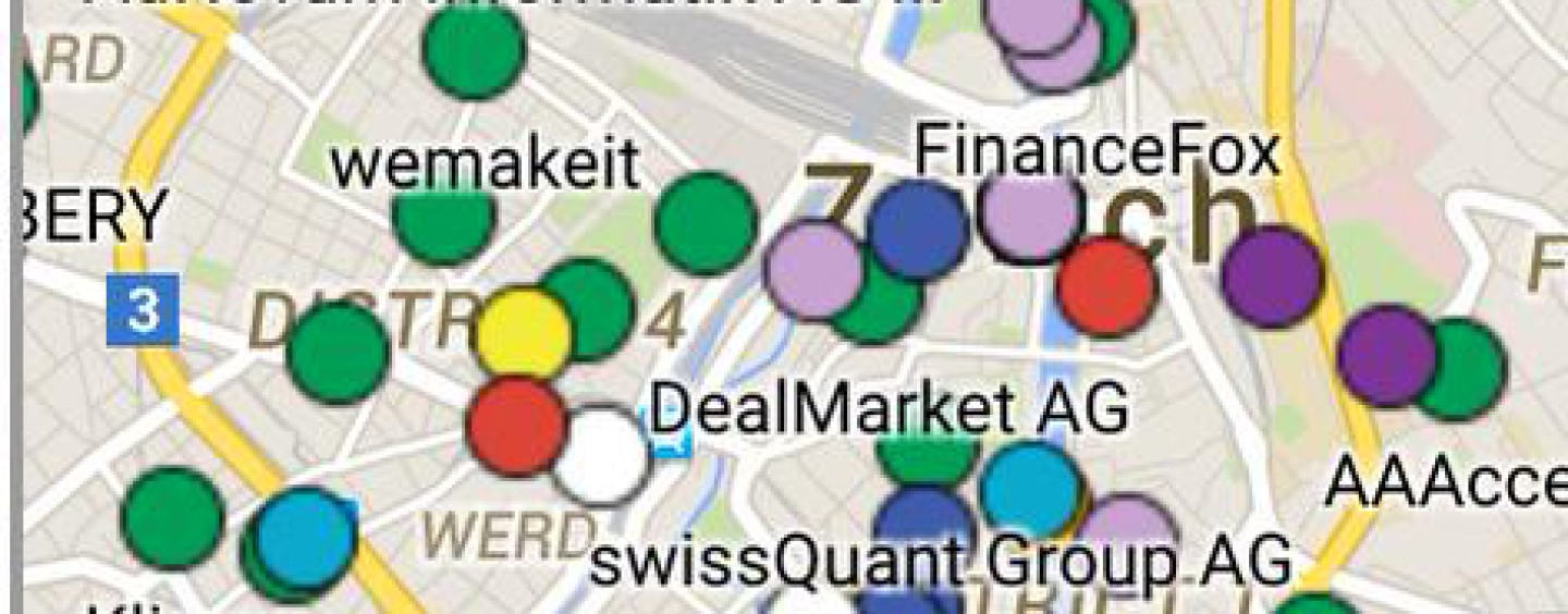 The Swiss Fintech Ecosystem and the Swiss Fintech Google Map
