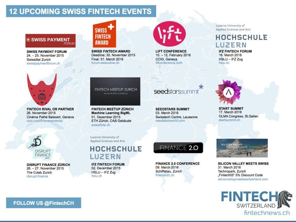 Swiss Fintech Events