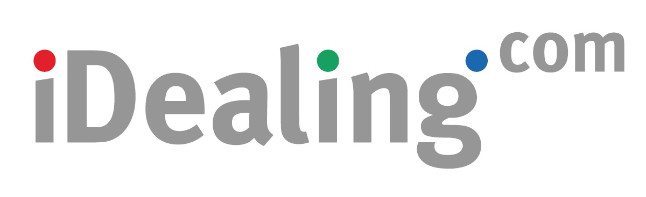 Online brokerage firm iDealing logo