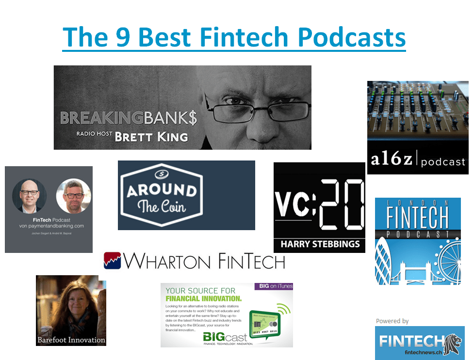 the best fintech podcasts