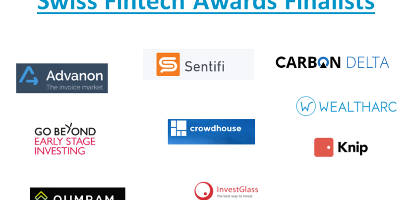 Swiss Fintech Award 2016 Announces 10 Semi-Finalists