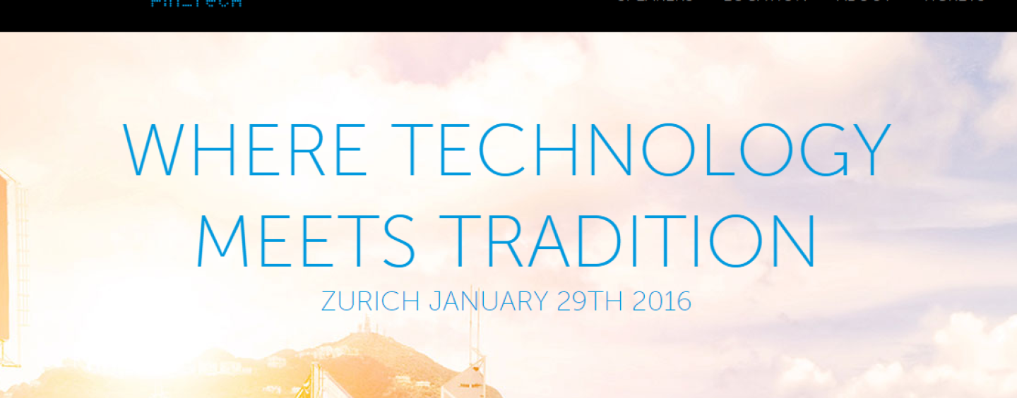 Worldwebforum Fintech Satellite Event in Zurich (Jan 29th) / Exclusive Invitation for Fintechnews Readers