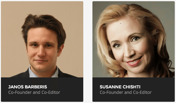 Janos Barberis Susanne Chishti Co-founders and co-editors The FINTECH Book