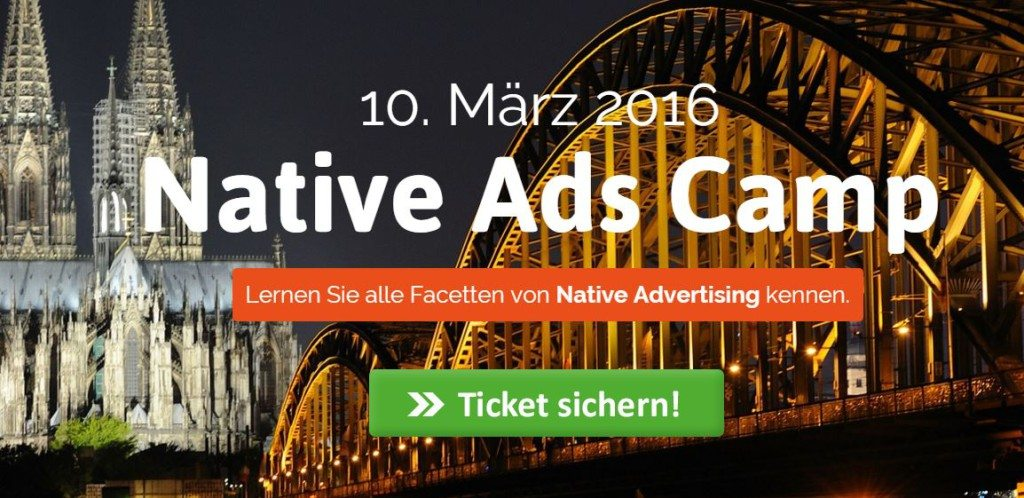native ad Camp Köln