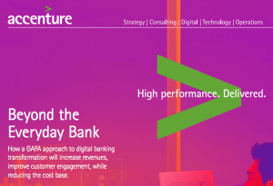 Accenture report Beyond the Everyday Bank cover