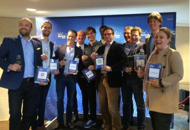 European Fintech Awards 2016 Announces Winners including 2 Swiss Fintech