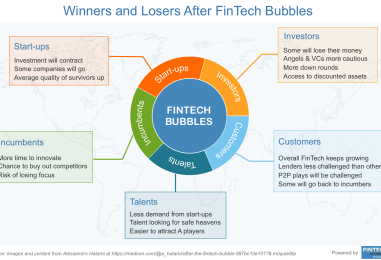 After the FinTech Bubble, Who are the Winners and Losers?