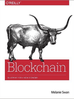FinTech books | BLockchain blueprint for a new economy