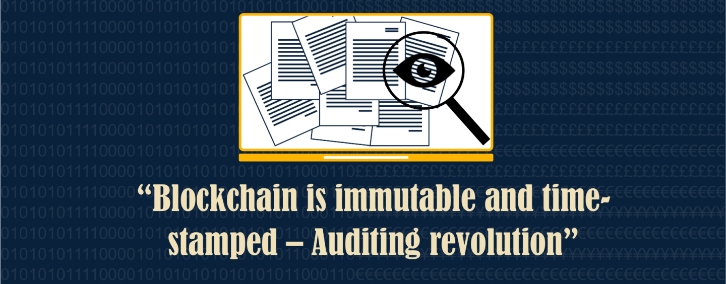 Blockchain and the Auditing Revolution – Real Time Audit within the Capabilities of Blockchain