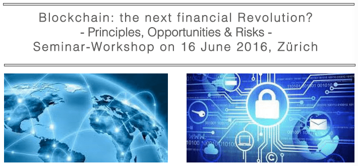 Blockchain the next financial revolution switzerland fintech event