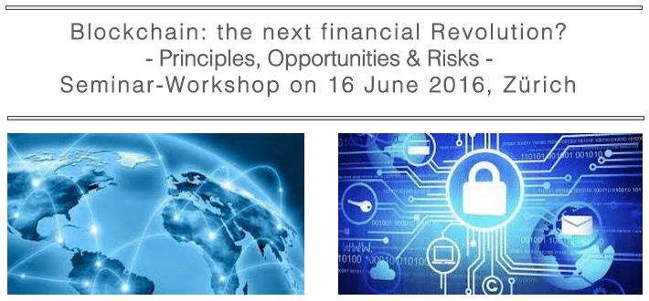Blockchain the next financial revolution switzerland fintech event