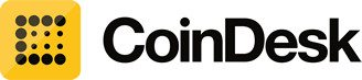 Coindesk logo bitcoin blockchain publication