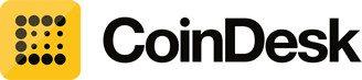 Coindesk logo bitcoin blockchain publication