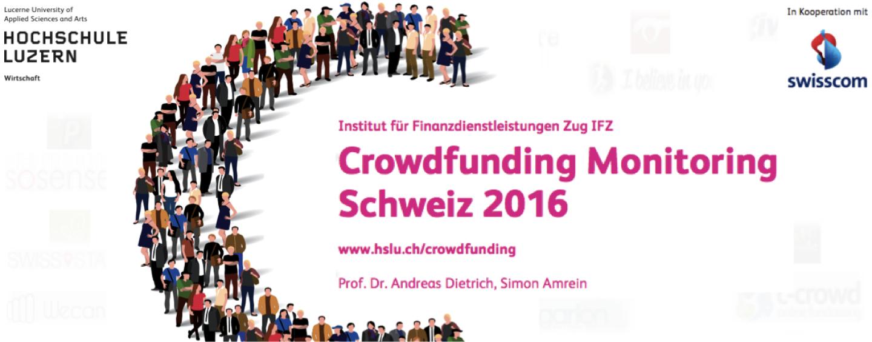 Crowdfunding Schweiz Monitoring: Immer mehr Crowdfunding-Plattformen drängen auf den Markt