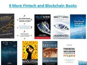 9 (More) Fintech and Blockchain Books to Have on Your Bookshelf