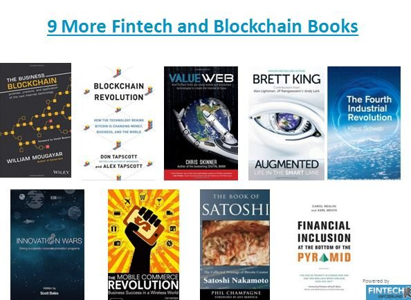 Fintech and Blockchain Books