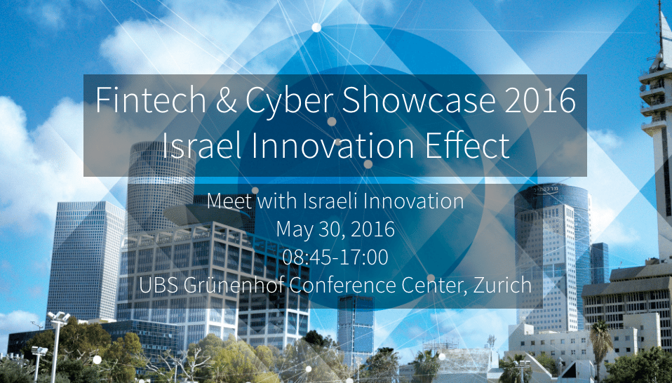 israel innovation fintech effect and cyber conference and showcase