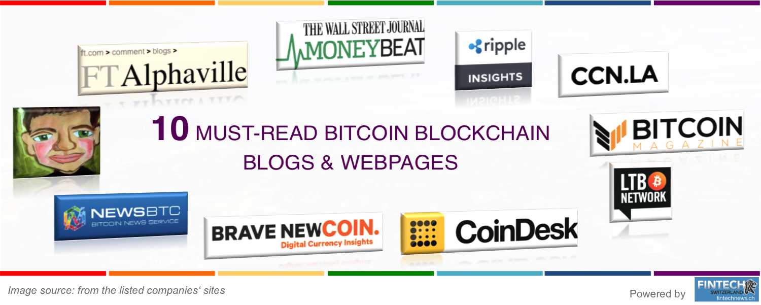 Top bitcoin blockchain blogs & Webs 2016