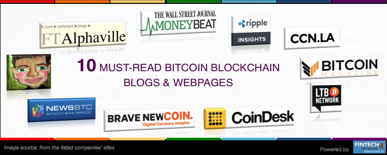 Top bitcoin blockchain blogs & Webs 2016