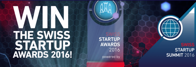 swiss startup awards 2016