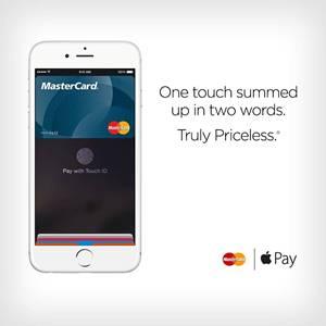 mastercard apple pay