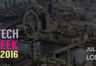What's the next big thing in Financial Services Technology? – Find out at London Fintech Week 2016