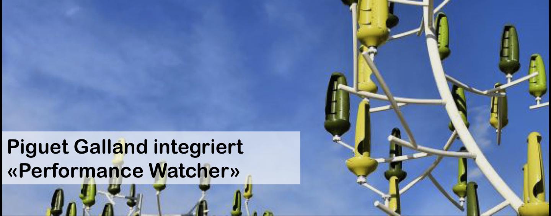 Piguet Galland integriert «Performance Watcher»
