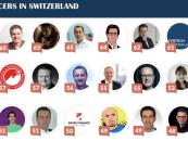 Fintechnews Names Top 30 Fintech Influencers in Switzerland