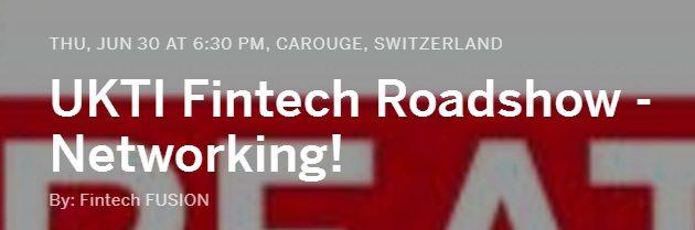 UKTI Fintech Roadshow - Networking