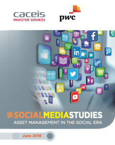 caceis pwc social media studies asset management report 2016