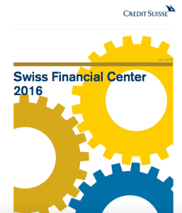 Credit Suisse Swiss Financial Center 2016 report