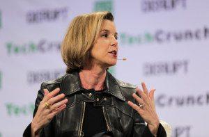 Sallie Krawcheck, Founder of Ellevest, at TechCrunch's Disrupt NY 2016
