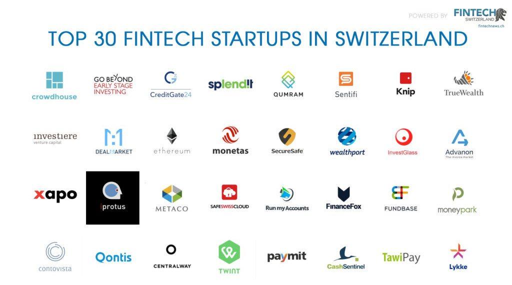 TOP 30 Swiss Fintech Startups