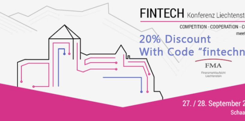 Gratistickets für FUW Fintech Konferenz und Fintech Liechtenstein Konferenz