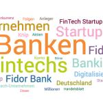 FinTech-Unternehmen-Themenwolke