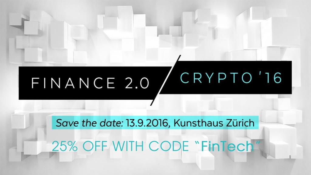 Finance 2.0 Crypto '16