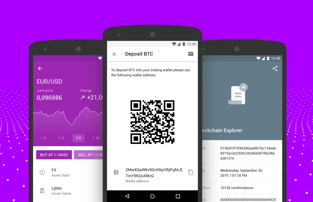 Lykke Launches Wallet App for Android Devices