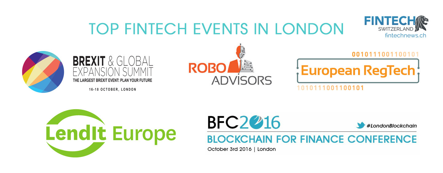 Top 5 London Fintech Events To Attend This Fall