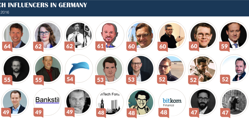 Top 30 Fintech Influencer in Deutschland