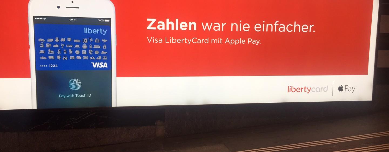 Visa LibertyCard mit Apple Pay