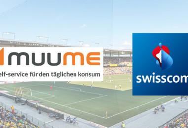 Mobile Payment Kooperation: MUUME integriert in YB Fussballclub App