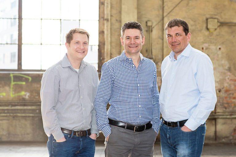 Von links nach rechts: Stefan Nägeli, Alwin Meyer und Andreas Hug, Co-Gründer von Swisspeers, auf https://www.swisspeers.ch/