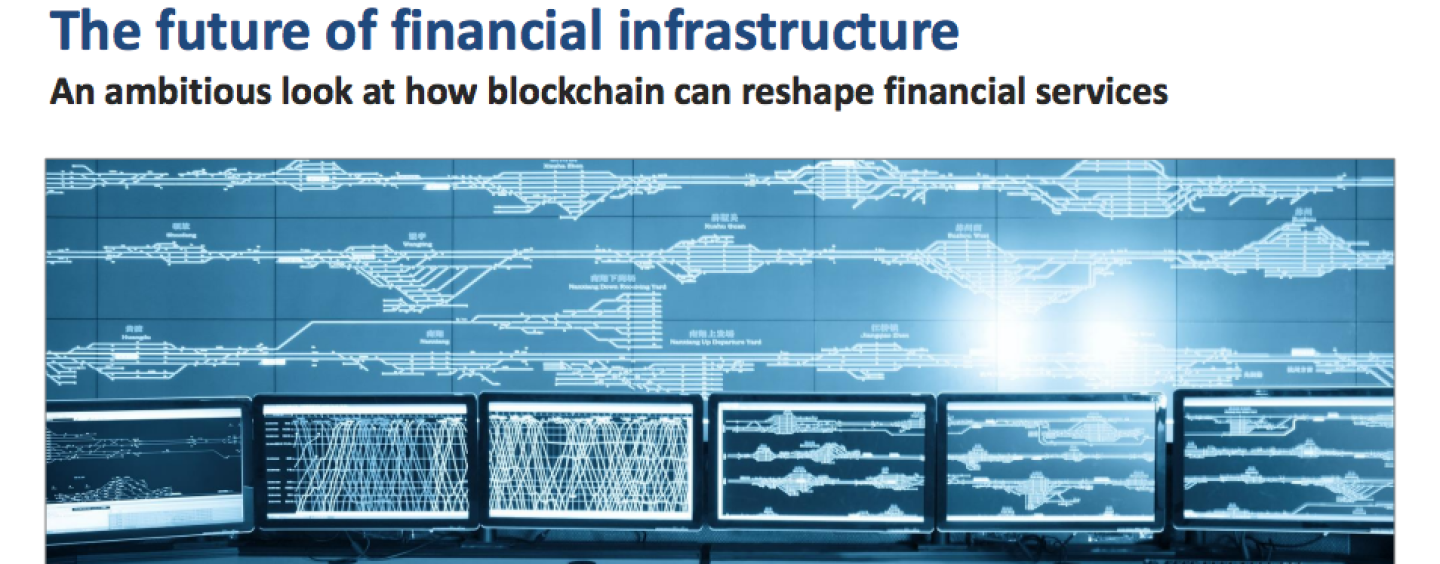 WEF Report Addresses How Blockchain Can Reshape Financial Services