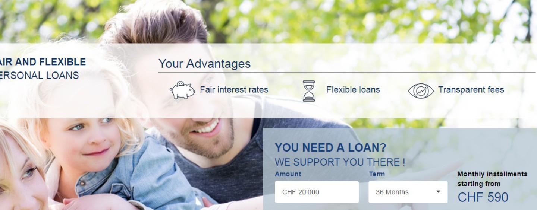 Hypothekarbank Lenzburg nutzt Fintech für das Privatkreditgeschäft