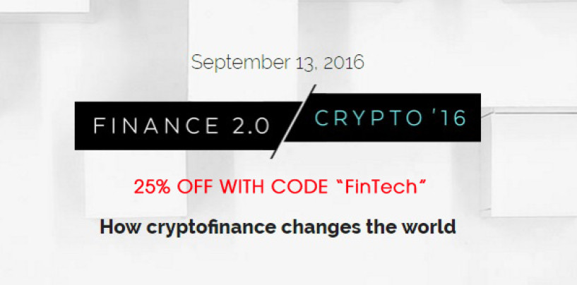 Win 3 Tickets for The Swiss Crypto Finance 2.0 Conference
