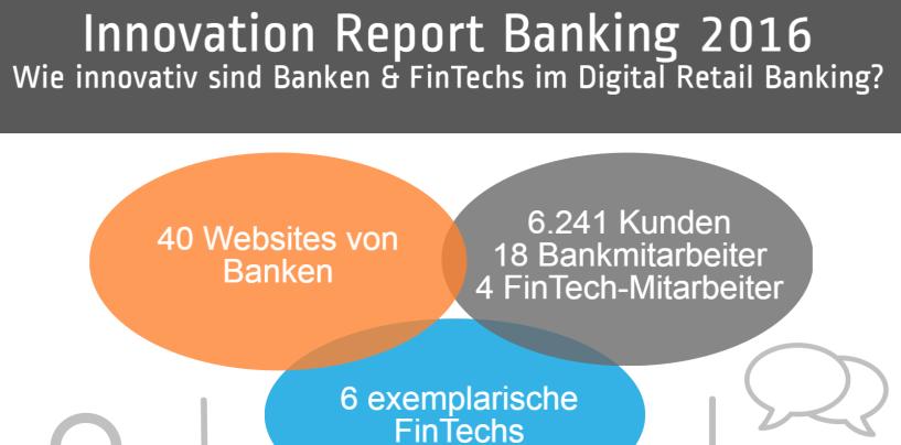 Infografik zum Innovation Report Banking 2016: Halten Banken mit den FinTechs Schritt?