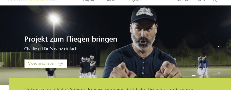 """Raiffeisen lanciert Crowdfunding-Plattform """"lokalhelden.ch"""""""