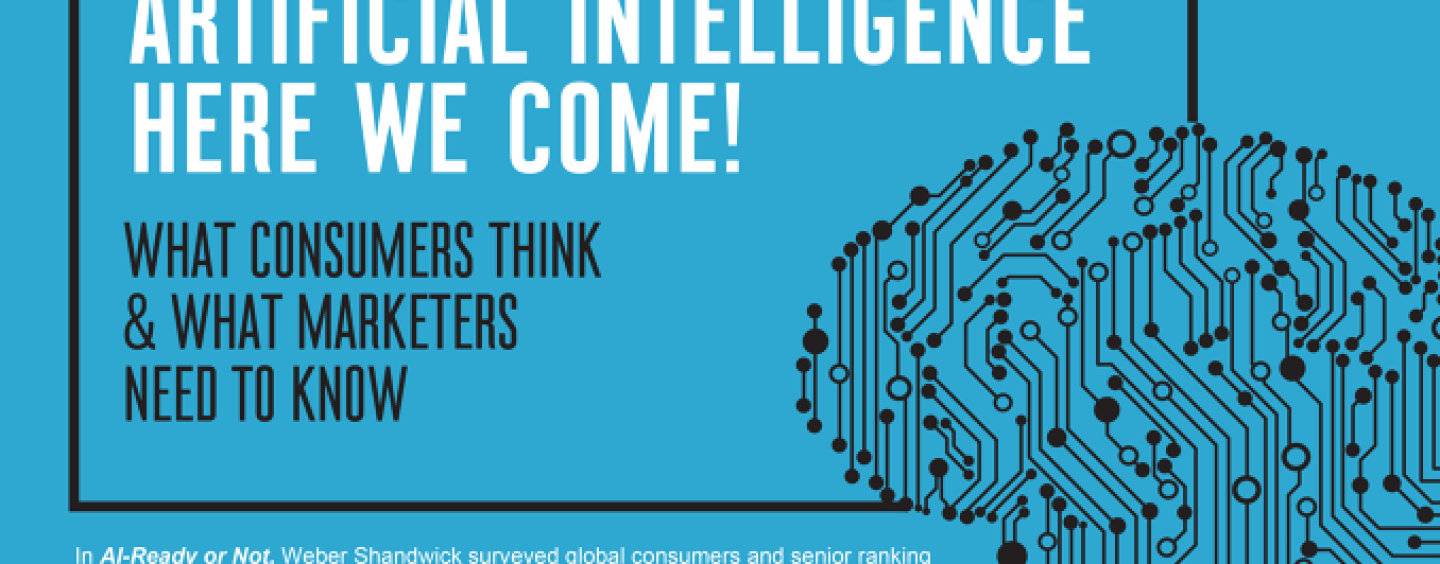 AI-Ready Or Not: Artificial Intelligence Here We Come!