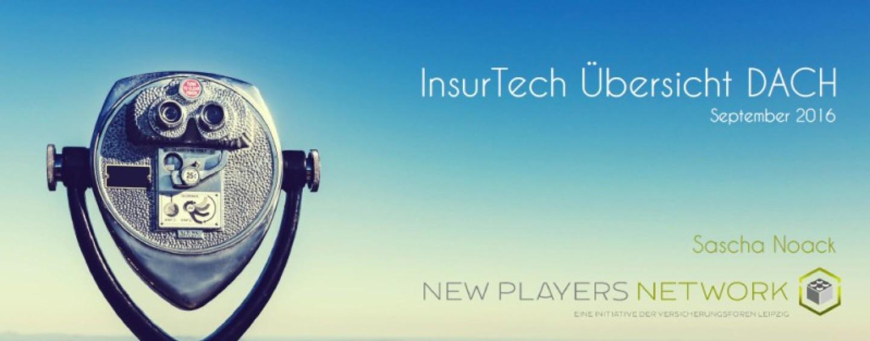 InsurTech Übersicht DACH September 2016