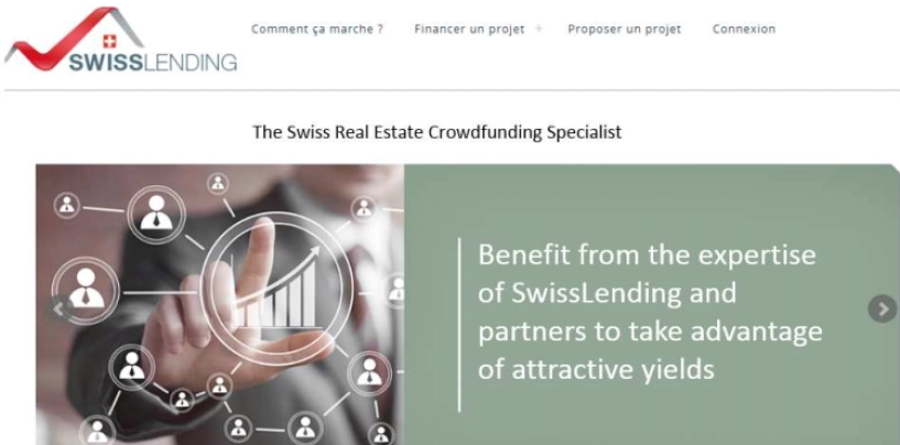 A New Real Estate «Crowdlending» Platform in Switzerland